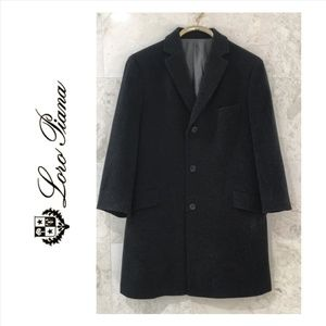 LORO PIANA x SAKS {40S} Coat Wool Cashmere Gray